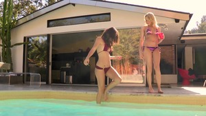 WeLiveTogether - Malena Morgan bikini with Mia Malkova