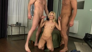 Euro Sex Parties - Hard pounding with Jessie Volt and Tony