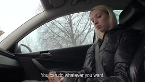 Public Pickups - Mina good fuck in the car