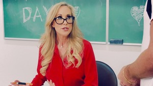 Big Tits at School: Brandi Love with Lucas Frost in school