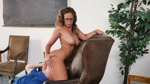 TeensLikeItBig - Bald Layla London cheating in tiny thongs
