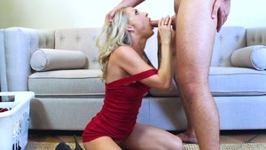 MILFsLikeItBig: Athletic Synthia Fixx getting a facial rimjob