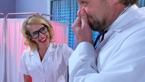 Doctor Adventures - European Kagney Linn Karter getting facial