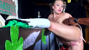 Big Wet Butts: Aj Applegate with Sean Michaels gonzo cumshot