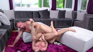 MILFsLikeItBig: Blowjobs with Ariella Ferrera and Keiran Lee