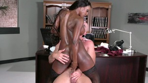 Dirty Masseur: American Diamond Jackson cumshot