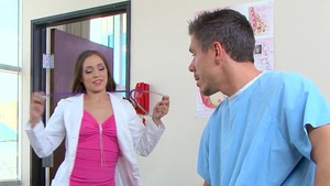 DoctorAdventures - Tiffany Star in a dress POV blowjob HD