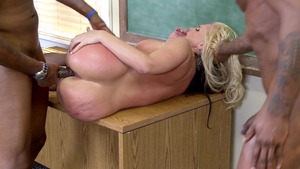 Big Tits at School - Piercing Alena Croft reverse cowgirl