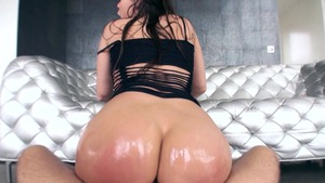 Big Wet Butts - Oily fingering Aleksa Nicole with Mick Blue
