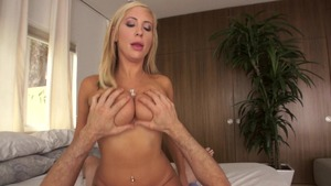Baby Got Boobs: Tasha Reign cleanest cumshot sex scene