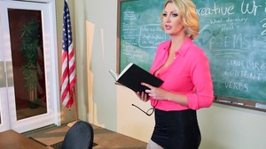 Big Tits at School: Leigh Darby and Clover scene