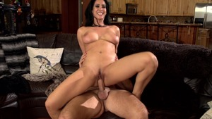 MILFsLikeItBig: Business woman Isis Love cowgirl sex