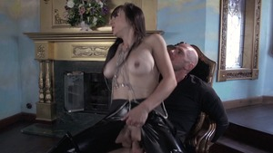 Pornstars Like It Big: Johnny Sins & Cytherea bondage outdoors
