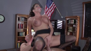 Big Tits at Work - Ariella Ferrera bondage porn