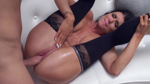 PornstarsLikeItBig: Romi Rain and Keiran Lee cowgirl sex