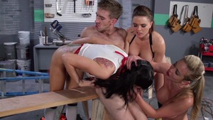 Big Tits in Uniform: Mia Lelani & Danny D porn