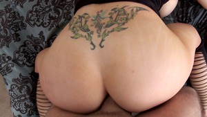 Big Wet Butts: Candy Manson is really pierced mature