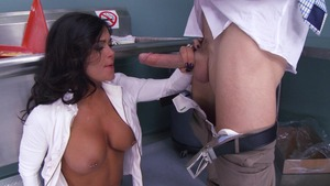 Big Tits at School - Crissy James ass to mouth XXX video