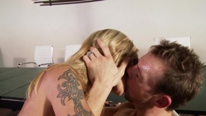 RealWifeStories: Cum on face alongside inked american mature