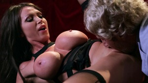 PornstarsLikeItBig: Nikki Benz wearing dress spanking HD