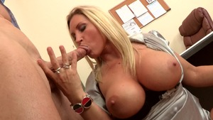 Big Tits at Work - Devon Lee reverse cowgirl