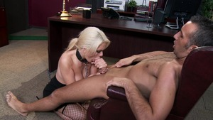 Big Tits at Work - Alexis Ford reverse cowgirl scene
