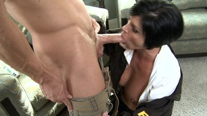 Big Tits in Uniform - American Shay Fox missionary fucking
