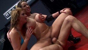 Big Tits in Sport: Kelly Divine along with Phoenix Marie FFM