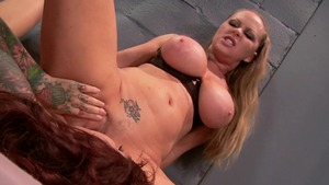 Hot and Mean: Femdom in prison caucasian Riley Jensen