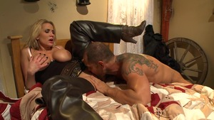 PornstarsLikeItBig: Alanah Rae enjoying big dick Nacho Vidal