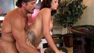 Baby Got Boobs - Face fuck muscle latina Jamie Valentine
