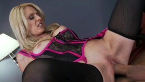 MILFsLikeItBig - European Angela Attison throat fuck