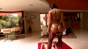 Big Wet Butts - Brown hair Lisa Ann POV blowjob porn