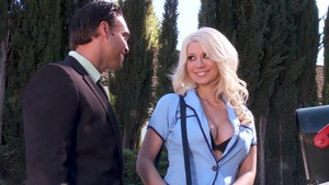 Big Tits in Uniform: Jazy Berlin & Rocco Reed porno