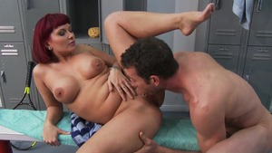MILFsLikeItBig - Carrie Ann ass to mouth