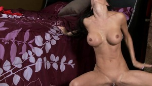 RealWifeStories.com - Bald and pierced Jessica Jaymes cumshot