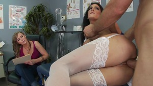 Doctor Adventures - Jessica Jaymes reverse cowgirl