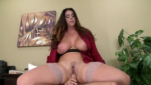 Brazzers - Alison Tyler is really very huge tits brunette