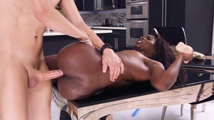 RealWifeStories.com - Ebony Ana Foxxx cheating
