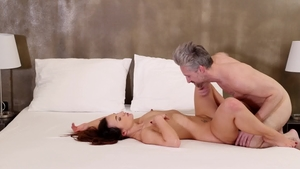 Nubile Films - Kristy Black next to Lutro pussy eating