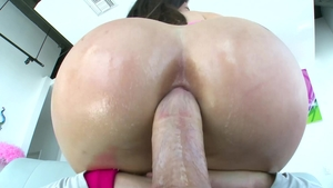TrueAnal - Tight Lana Rhoades moaning gaping