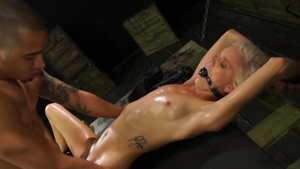 SexualDisgrace.com - Ravage gagging accompanied by Halle Von