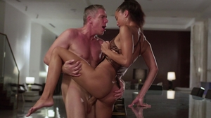 VIXEN: Blowjob together with Alexis Tae and Mick Blue